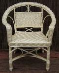 Fotel królewski, jasny. 72x53x43/85, siedzisko: 42x42.