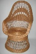Fotel na koszu. 60x75x 40/110 , ¶rednica siedziska  46