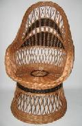 Fotel na koszu - kolor. 60x75x40/110, ¶rednica siedziska 46cm.