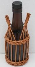 Oplot wiklinowy butelki o poj. 0,1 l. 7x19,  wzór