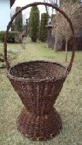 Kosz do ogrodu. sred góra 55, wys 60/110